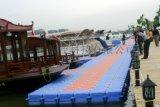 定製供應滾塑水上浮橋 浮筒 遊艇碼頭浮箱 浮動碼頭
