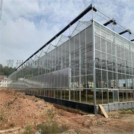 热镀锌玻璃温室建设 青州中建农业玻璃温室工程