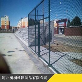 江西边坡防护绿化用勾花网 运动场球场护栏网