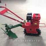 多用途單履帶犁田機,播種施肥獨輪耕地機