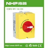 NHP南普 廠家   NP09-16-40A 負荷隔離開關路邊戶內外   IP65可配鎖