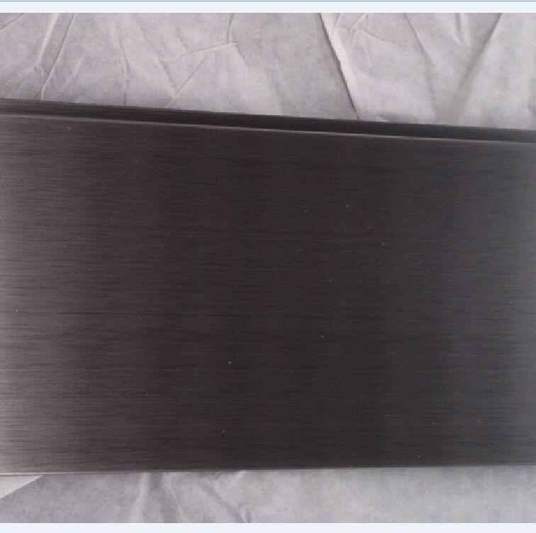 304彩色板, 现货不锈钢黑钛板, 拉丝玫瑰金不锈钢板