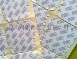 3M双面胶带,苏州3M泡棉双面胶,3M无基材双面胶模切冲型加工