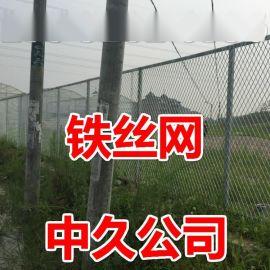 体育护栏网篮球场铁丝围栏 足球场**护栏网 包塑球场勾花网