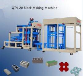 厂家直销欣达QT4-20全自动砌块机 免烧砖机 空心砖机欢迎咨询