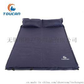 图橙户外 自动充气垫 带枕 可拼接双人充气床垫 自驾 野营 防潮垫