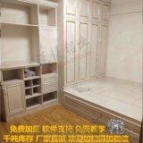 仿木纹铝合金榻榻米床头柜防腐防火全铝家居定制铝型材