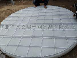 安平厂家专业生产PTFE聚四氟乙烯丝网除沫器