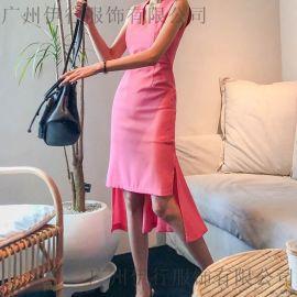 玛丝菲尔北京服装尾货批发库房 品牌尾货服装