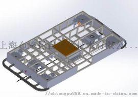 牵引式搬运agv小车3-5T方案 双舵轮 磁导引 整车方案可定制