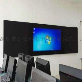 75寸纳米黑板《信用中国》专访企业专注环保教育装备