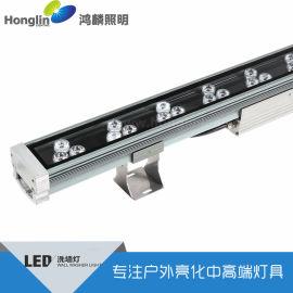 36w全彩dmx512洗墙灯 大功率线形灯