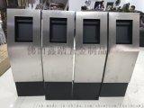 不鏽鋼門口機立柱彩色可視對講門禁主機機坐的產品特點