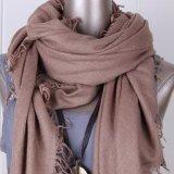 时尚单色羊绒围巾