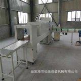 礦泉水灌裝機生產線  熱收縮膜包裝   膜包機  後端熱收縮打包機