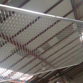 铝板拉伸网 装饰铝板网 幕墙钢板网