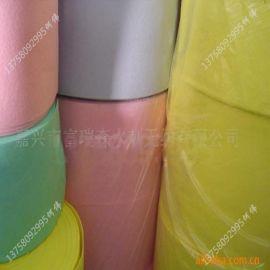 专业生产水刺无纺黑色_特黑无纺布__带色水刺布_负离子布