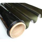 生产汽车太阳膜侧后档玻璃贴膜膜橄榄绿易烤无胶臭味
