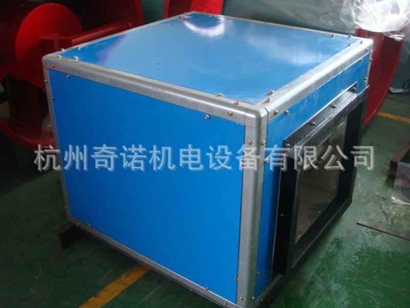 HTFC-Ⅰ-9型1.1kw低噪音消防通风两用箱式离心风机