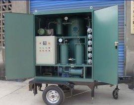 ZJA-100通瑞牌拖车式封闭式双级高真空脱气油净化装置