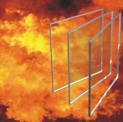 8mm單片非隔熱型防火玻璃