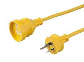 澳大利亚SAA认证插头插座,电源线,延长线