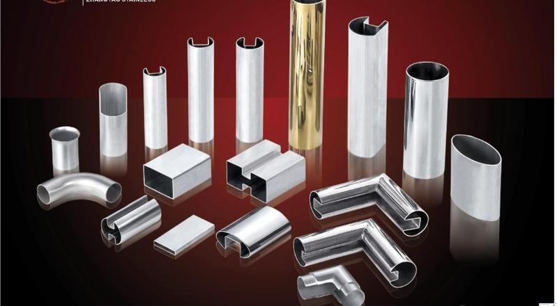 佛山不锈钢异形管 拉丝不锈钢单槽管