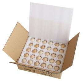 30枚珍珠棉鸡蛋托快递防震防摔包装盒内衬定制
