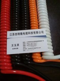 精品2芯1.5平方弹簧线专业化制造商