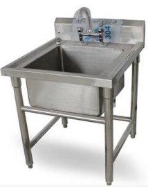 供应优质不锈钢水槽 带水龙头单星盆水槽 厨房设备