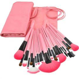 供应24支专业化妆套刷、化妆用具、美容工具、套扫、化妆师必备