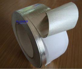 铁皮风管外保温玻璃棉贴面接缝胶带