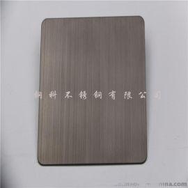 不锈钢黑钛拉丝板,黑钛拉丝不锈钢装饰线条剪折加工