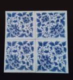 万业陶瓷推荐30*30青花瓷餐桌镶嵌瓷板