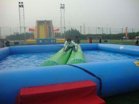 超大型家庭豪華充氣游泳池親子海洋球池兒童加厚加