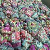 供應間棉加工絎縫棉,寸半格,2X3菱形,直條各種花形襇棉