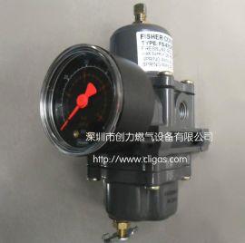 费希尔67CFR-600调压器 67CFR-235空气过滤减压阀