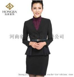 泓家OL时尚韩版修身外套 小西装外套+半裙