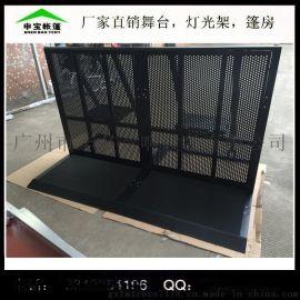 铝合金折叠舞台防爆栏/演唱会通道防撞折叠护栏/6061铝合金防爆栏