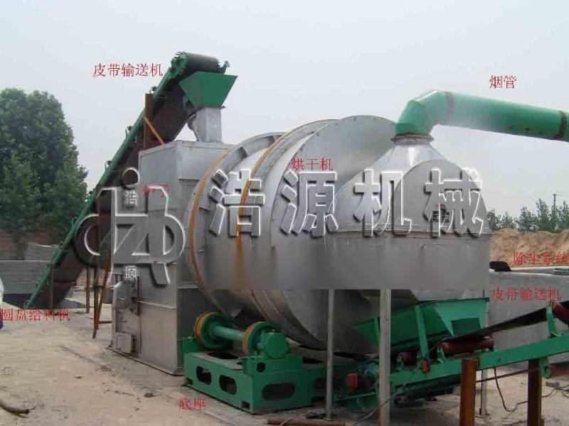 河南浩源回转式沙子烘干机设备争做行业的