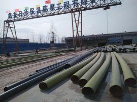 鑫龙日升DN70聚氨酯预制保温管厂家