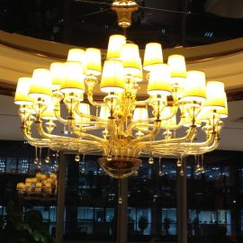 欧式奢华水晶吊灯  时尚客厅灯酒店包房餐厅豪华灯饰