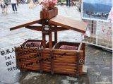 蓬莱水城配套垃圾桶价格 太清宫复古装饰垃圾箱图片