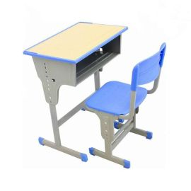 郑州定做课桌椅|实木课桌凳价格|单人课桌凳图片