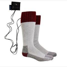 秋冬季发热袜子保温保暖袜子 可拆卸电池 恒温加热 防寒保暖