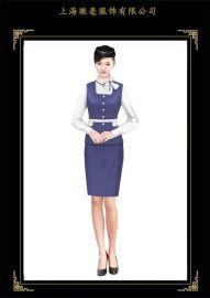 职业装厂家设计定做空姐服 航空制服 高铁巴士乘务员工作服定做