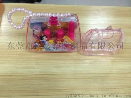 厂家供应超高品质珠珠手提化妆盒PS化妆盒