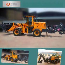 小型挖掘装载机专业厂家 铲车两头忙图片湖南常德中首重工珍