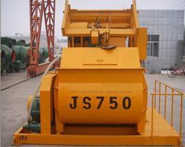 郑州革新JS750强制式混凝土搅拌机
