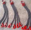 起重鏈條吊索具 鏈條成套吊索具 5T*4腿*2m 四腿鏈條索具 可定制